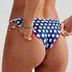 Rare NWT Victoria's Secret Strappy Cheeky Bikini M